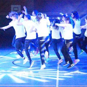 """Tanztreffpunkt """"Tanz und Licht"""" 2018 in der Michelauer Mainfeldhalle"""