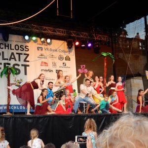 Unsere Auftritte beim Schlossplatzfest Coburg 2017
