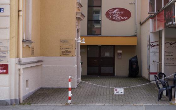 Eingang Tanzstudio