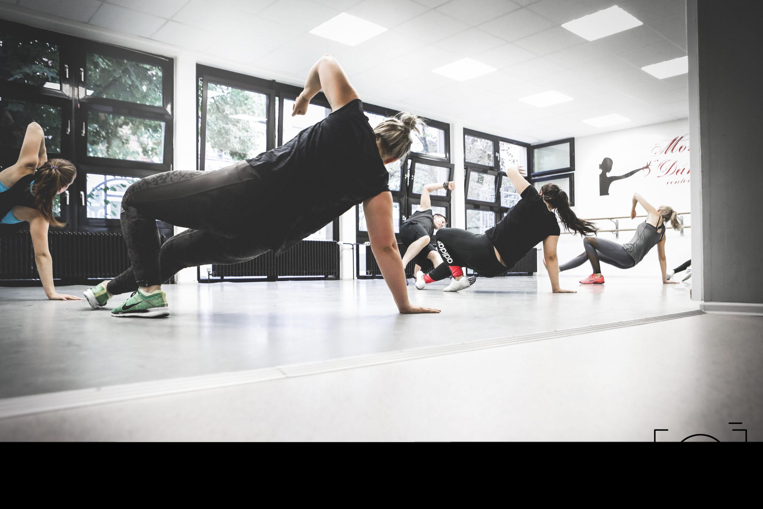 Fitnessstunde im Move & Dance Center Coburg